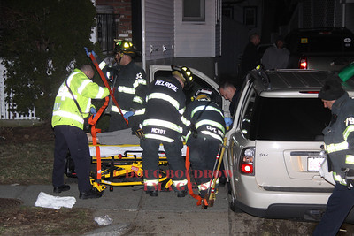 Melrose,MA - MVA - Howard & Green Streets, 4-5-13
