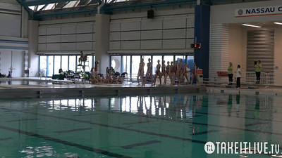E08 Free Combination Preliminary Competition 2015 U.S. Open Synchronized Swimming Championships - Takeitlive.tv Livesynchro Channel