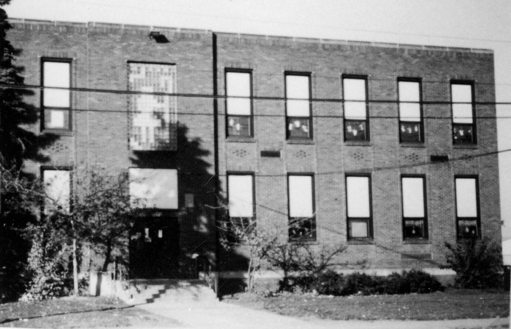 . Historic photo provided by Jim Smith <br> Boone Elementary School opened in 1938 on Long Avenue in Lorain, and replaced Garden Avenue School. It sat next to Hawthorne School, and was named for Dalton Boone, who served as superintendent of Lorain City Schools from 1914 until his death in 1935.
