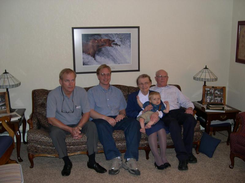 4 generations of Swensons