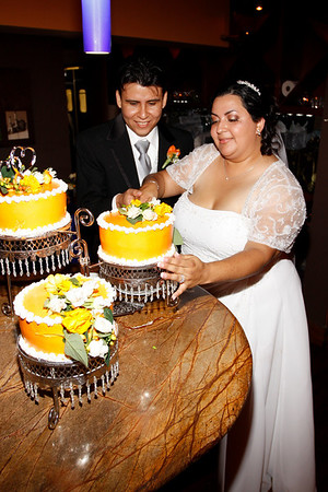 Norma & Hector Cake and Tossing