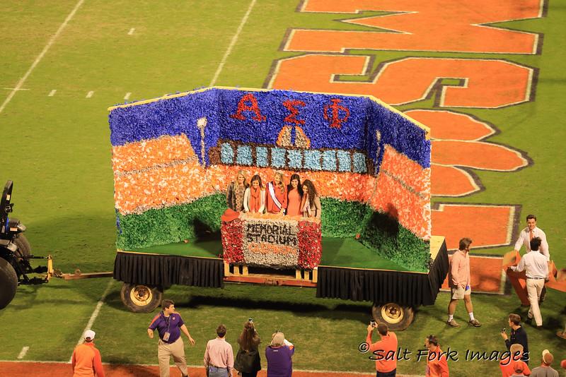 Homecoming Court 2015 - Clemson University - Clemson, South Carolina