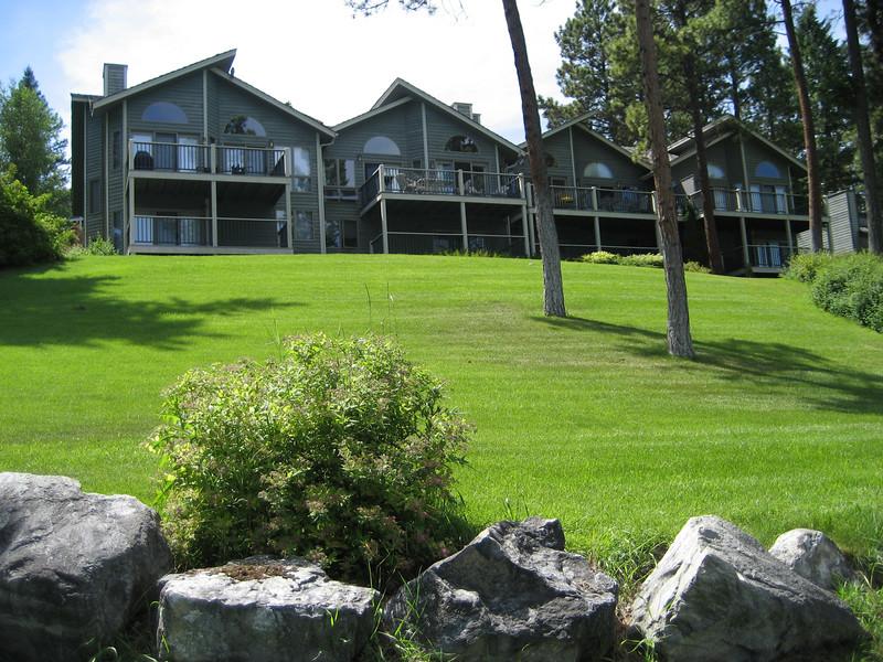 """""""the cabin"""" on Flathead Lake"""