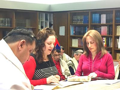 3/11/17 Purim Megillah reading