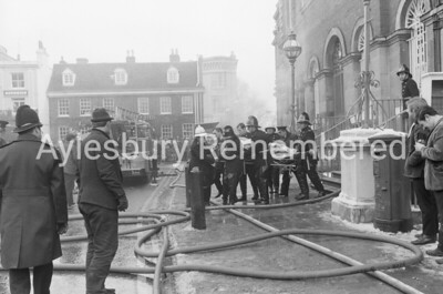 County Hall fire, 1970