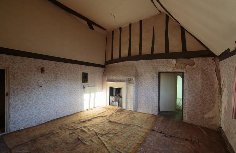 Bedroom in Manor Farmhouse in Spaldwick (Nov 2014)