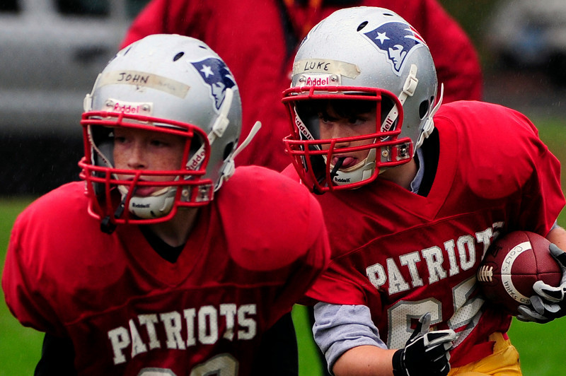 Mighty Mites Week 3 - Colts v. Patriots