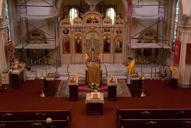 Matins & Liturgy 01/29/2012