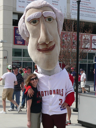 Nationals Game with Dad
