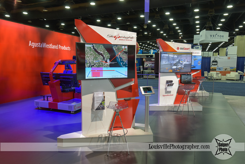 Louisville Trade Show Photographer - HAI Heli Expo - Finmeccanica-2.jpg
