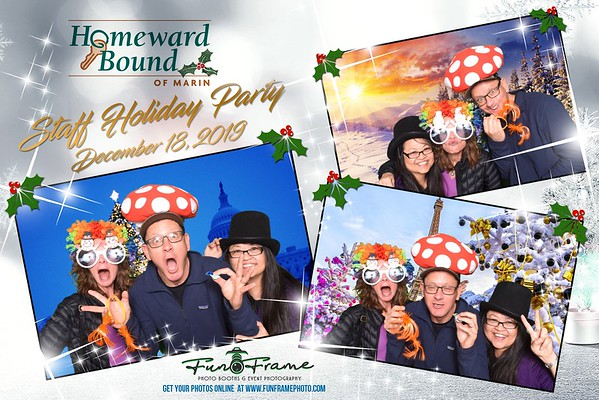 Homeward Bound Staff Holiday Party 2019