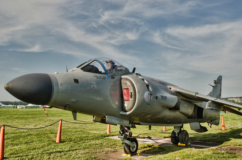Sea Harrier flown by Art Nalls at the National Warplane Museum Geneseo Airshow.