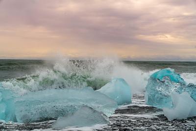 "Iceland "" Diamond Beach & Glacier Lagoon """
