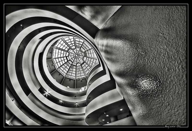 Let's run in Guggenheim curves
