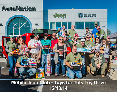 Mobile Jeep Club Toy Drive 2014-12-13