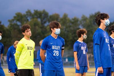 Varsity Boys Soccer vs Grove City