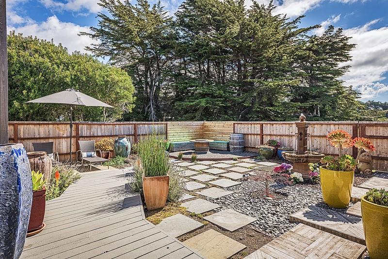 Large Garden Deck