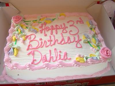 Dahlia's 3rd Birthday Party