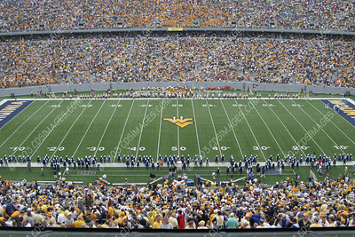 WVU vs Wisconsin - Halftime Formations - 8/30/03