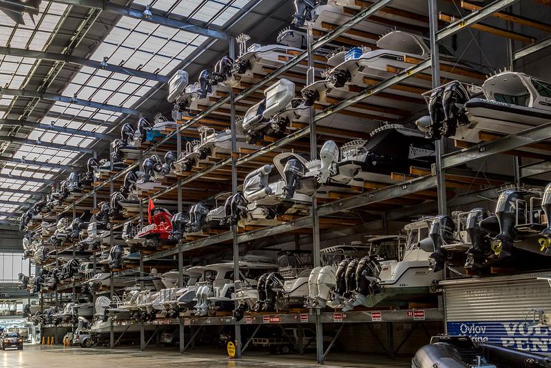 Parking für Schiffe