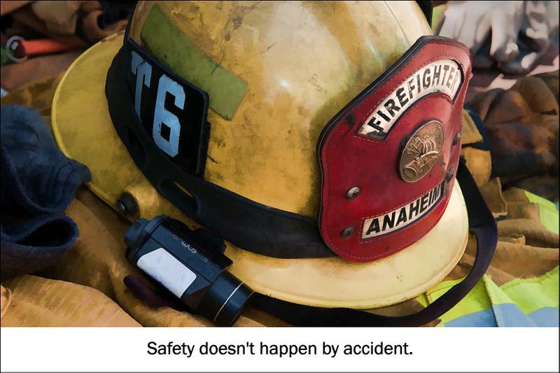 Be Safe!  Filtered photo
