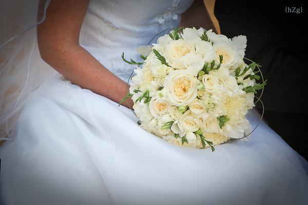 Kara and Adam's Wedding Flowers