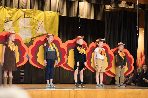 2016 2nd Grade Turkey Play