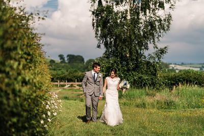 Claire and Conah Brynich Barn Wedding