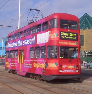 Blackpool Trams  - Easter 2005