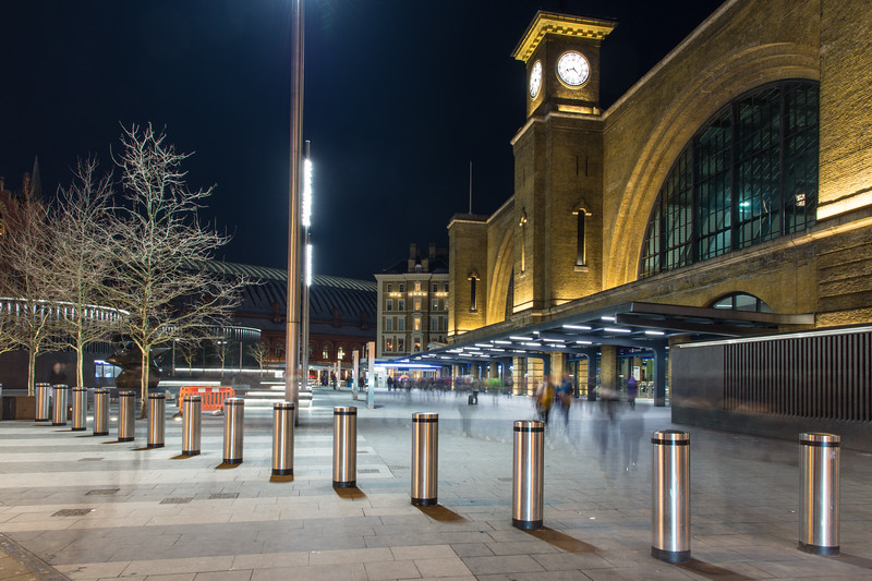 King's Cross Station in London