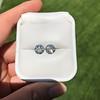 4.08ctw Old European Cut Diamond Pair, GIA I VS2, I SI1 9