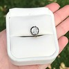 .97ct Late Victorian Antique Cushion Cut Collet Component 7