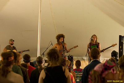 Bands - tent stage