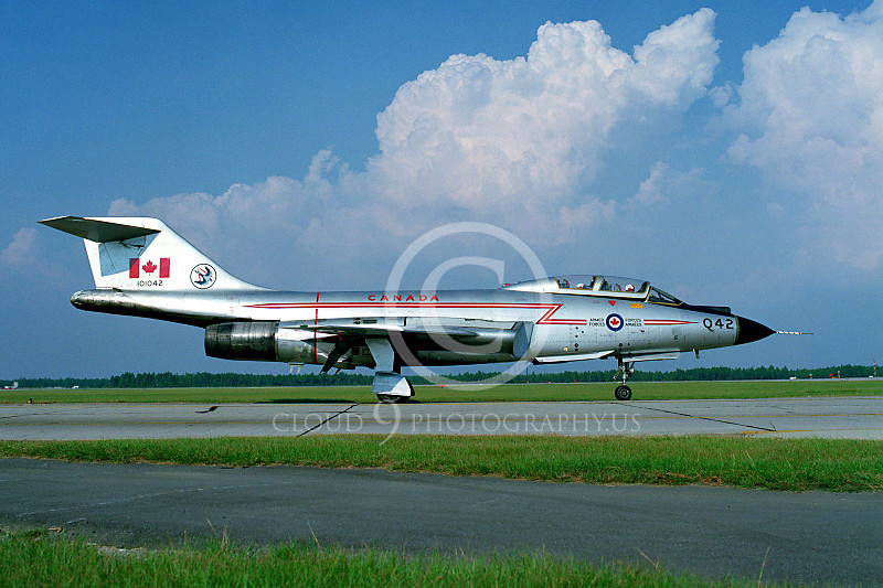F-101BForg 00019 McDonnell F-101B Voodoo Canadian Armed Forces 101042 Tyndall AFB by Peter J Mancus .JPG