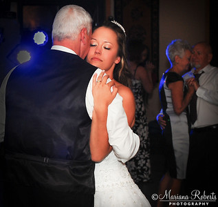 Dancing with Daddy at the Reception