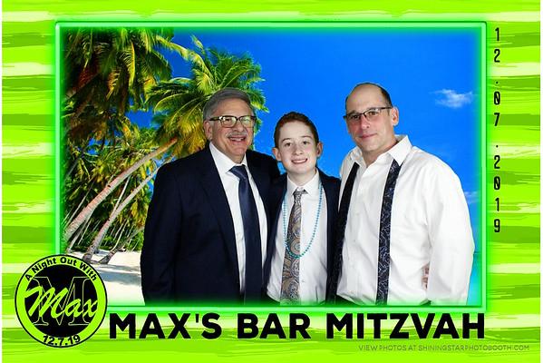 12/7/19 Max's Bar Mitzvah
