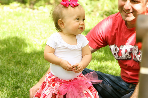 Hailee's first birthday party!