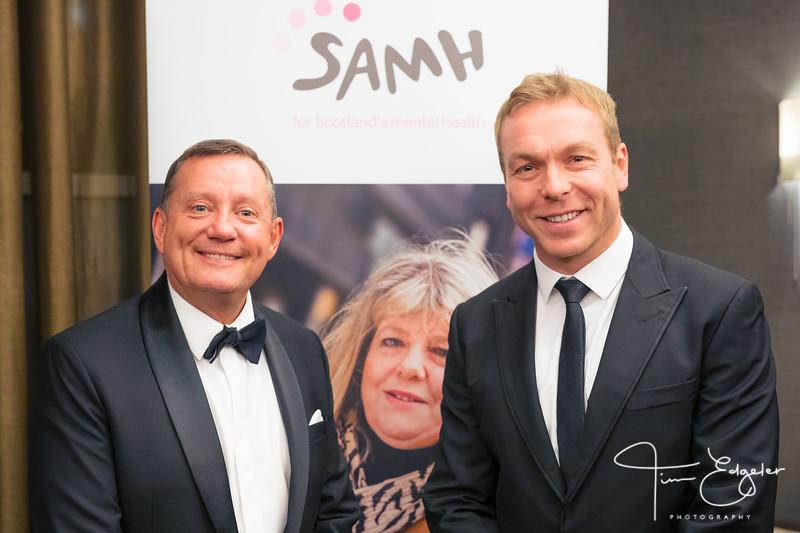 SAMH Sir Chris Hoy Celebration Dinner