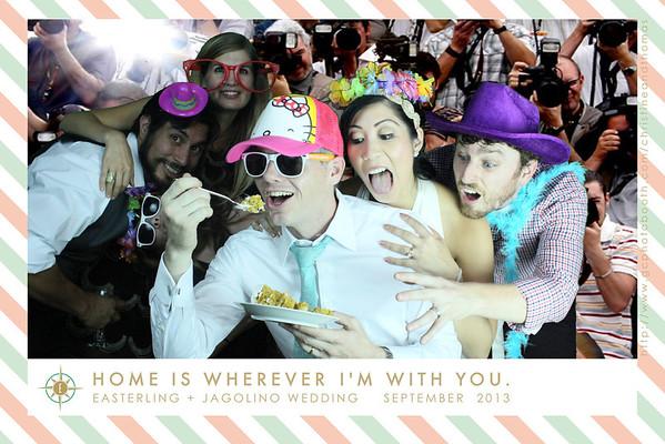Christine and Thomas Wedding Photo Booth Prints