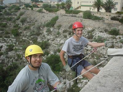 Newcastle Scouts in Malta