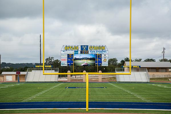 Antler Stadium Dedication 2014