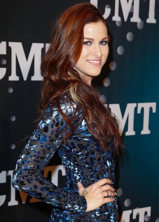 . Cassadee Pope attends CMT Artists Of The Year 2013 on December 3, 2013 in Nashville, Tennessee.  (Photo by Terry Wyatt/Getty Images)