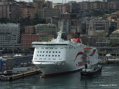 CARTHAGE IMO 9185396 NURAGHES IMO 9293404 Genoa 5 Apr 2014