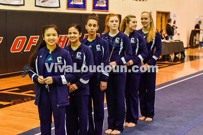 Gymnastics:  Conference 21 and 28 Championship 2.4.2015 (by Michael Hylton)