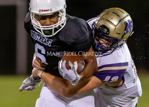 Broughton Varsity football at Southeast Raleigh. October 4, 2019. D4S_4927