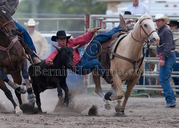Steer Wrestling - Sunday