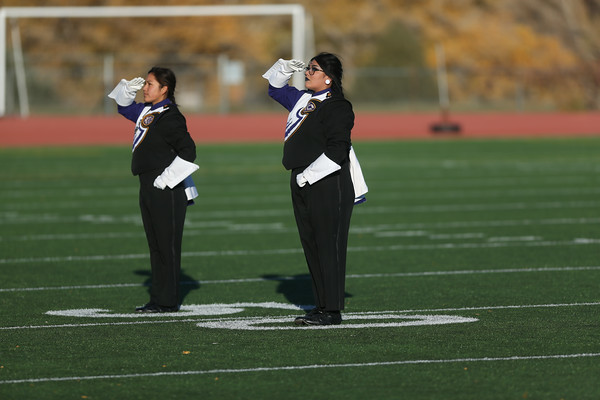 Kirtland Central HS Marching Band 10-30-19