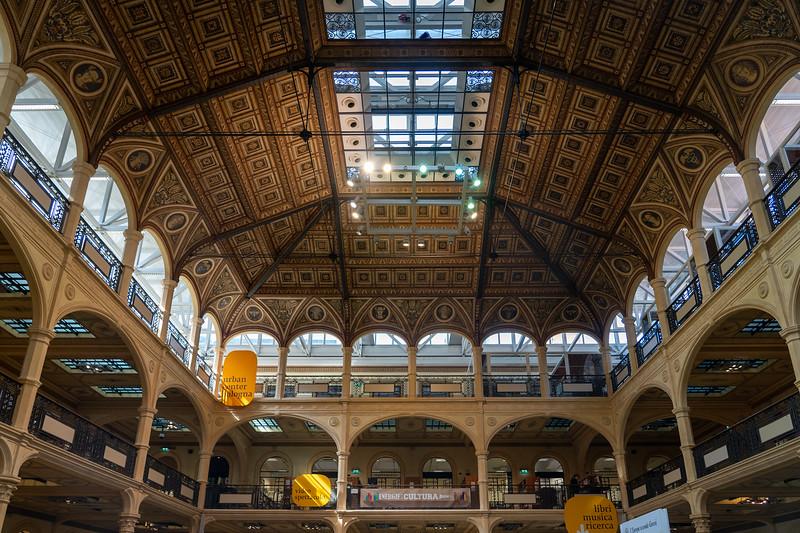 Salaborsa Library in Bologna