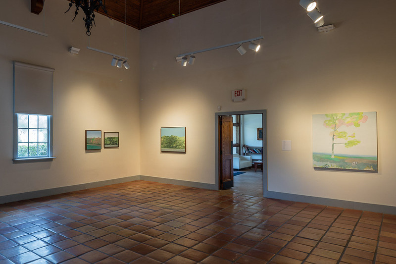 Jake Longstreth, Pastures and Parking Lots, Installation View.