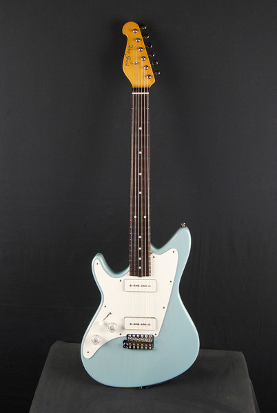 Lefty ElectraJet Custom, Mary Kay Sonic Blue, ElectraSonic Pickups